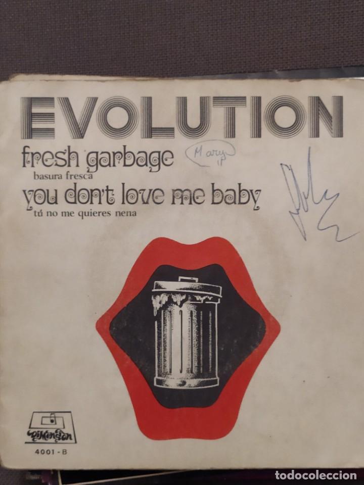 EVOLUTION: FRESH GARBAGE, YOU DON'T LOVE ME BABY PROGRESIVO, EKIPO DIMENSION 1969 (Música - Discos de Vinilo - EPs - Grupos Españoles de los 70 y 80)