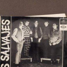 Discos de vinilo: LOS SALVAJES: LA NEURASTENIA, SOY ASI, CORRE CORRE+ 1 REGAL 1966. Lote 220944916
