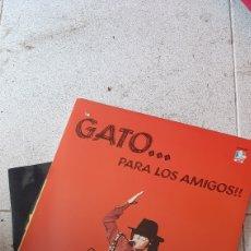 Discos de vinilo: GATO BARBIERI - GATO... PARA LOS AMIGOS - 2 LP -. Lote 220945065