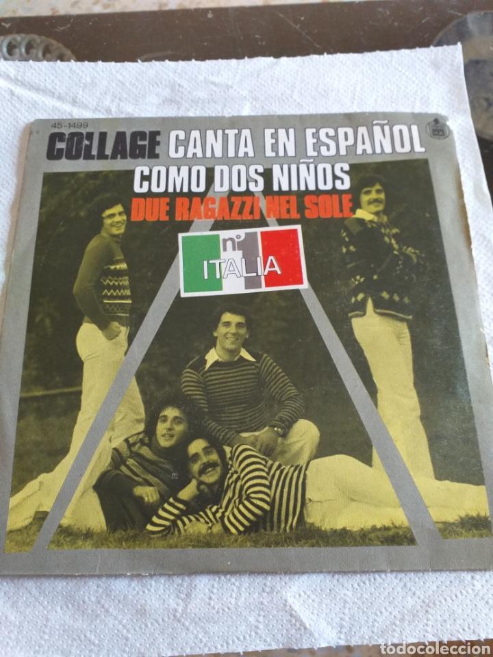 COLLAGE (Música - Discos - Singles Vinilo - Pop - Rock - Extranjero de los 70)