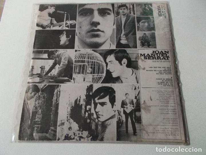 Discos de vinilo: joan manuel serrat, els setze jutges, 1967, edigsa - Foto 2 - 220946840