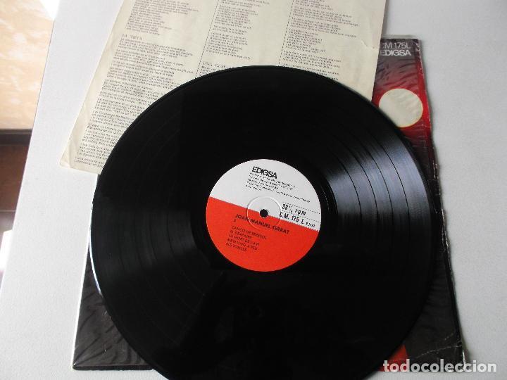 Discos de vinilo: joan manuel serrat, els setze jutges, 1967, edigsa - Foto 3 - 220946840