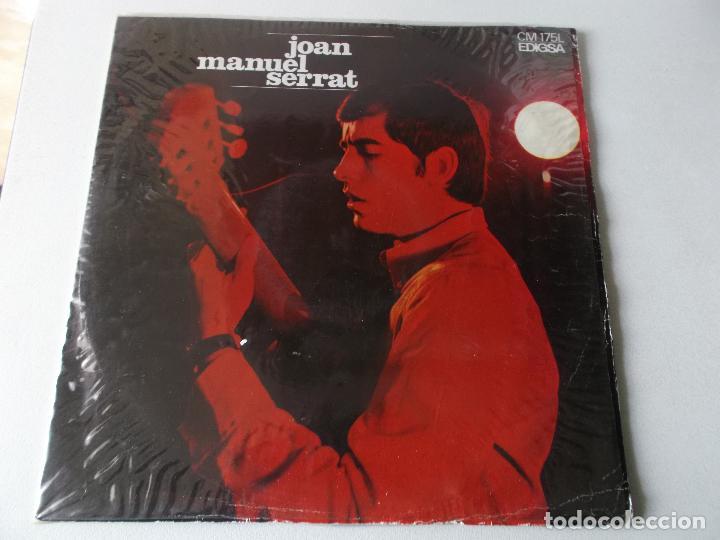 JOAN MANUEL SERRAT, ELS SETZE JUTGES, 1967, EDIGSA (Música - Discos - LP Vinilo - Solistas Españoles de los 50 y 60)