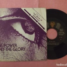 "Discos de vinilo: 7"" HORLIPS ‎– THE POWER AND THE GLORY - DJM RECORDS P - 50 - SPAIN PRESS - PROMO - 1SIDED (EX/EX). Lote 220946846"