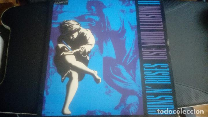 GUNS N' ROSES – (2 LP) USE YOUR ILLUSION II (1991 SPAIN) (Música - Discos - LP Vinilo - Heavy - Metal)