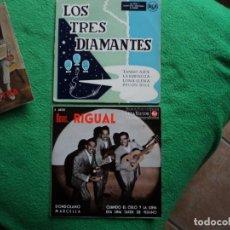 Discos de vinilo: HERMANOS RIGUAL - LOS 3 DIAMANTES: GRUPOS DE LATINOAMERICA 2 EN OFERTA COLECCIONISTAS. Lote 220947513