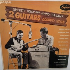 Dischi in vinile: SPEEDY WEST AND JIMMY BRYANT- 2 GUITARS COUNTRY STYLE - FRANCE LP 1985- VINILO COMO NUEVO.. Lote 220951866