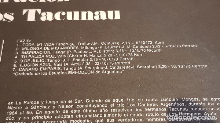 Discos de vinilo: LOS INDIOS TACUNAU / INSPIRACIÓN / LP ODEON-ARGENTINA-1974 / MBC. ***/*** - Foto 4 - 220960382