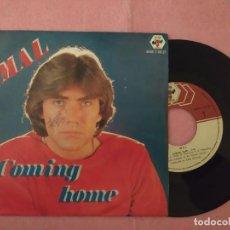 "Discos de vinilo: 7"" MAL – COMING HOME / SECRETS - BABY RECORDS BAB 7-03-27 - PORTUGAL PRESS (VG+/VG++) . Lote 220961261"