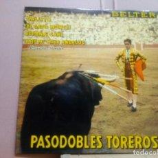 Discos de vinilo: PASODOBLES TOREROS .ORQUESTA FLORIDA. Lote 220975838