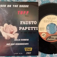 Discos de vinilo: SINGLE FAUSTO PAPETTI - TUFFSLOW - ¡ÚNICO ENVÍO A FINAL DE MES!. Lote 220976687