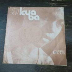 Discos de vinilo: ORCHESTRA LIPUA - LIPU. ICUBA. 45 RPM. KA 11-B. MUSANGOLA. LUANDA (ANGOLA). Lote 220977535