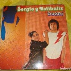 Discos de vinilo: SERGIO Y ESTIBALIZ. BEANS. ZAFIRO, 1979. PORTADA ABIERTA . CON INSERT . IMPECABLE (#). Lote 220977807