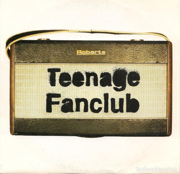 TEENAGE FANCLUB,RADIO DEL 93 PROMO DE 1 SOLA CARA (Música - Discos - Singles Vinilo - Pop - Rock Extranjero de los 90 a la actualidad)