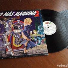 Disques de vinyle: NO MAS MAQUINA 2 -DOBLE LP-ESPAÑA-1994. Lote 220992757