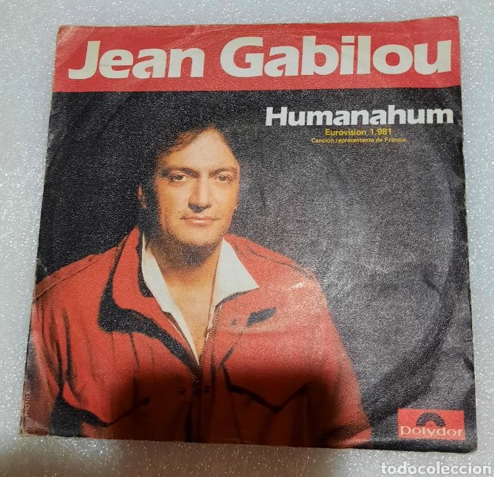 JEAN GABILOU - HUMANAHUM (Música - Discos - Singles Vinilo - Festival de Eurovisión)