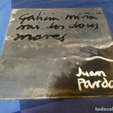 Discos de vinilo: EXPRO LP BUEN ESTADO JUAN PARDO GALICIA MIÑA 1976 BUEN ESTADO GENERAL. Lote 221002252