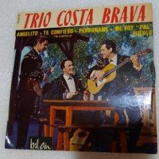 Discos de vinilo: TRIO COSTA BRAVA - ANGELITO + 3. Lote 221002896
