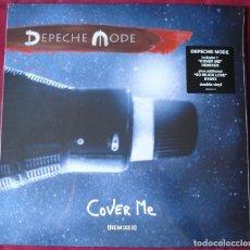 Discos de vinilo: DEPECHE MODE - COVER ME. REMIXES. DOBLE MAXI SINGLE VINILO. NUEVO. PRECINTADO.. Lote 221005686