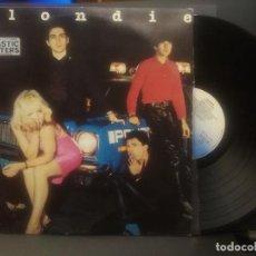 Discos de vinilo: BLONDIE PLASTIC LETTERS LP SPAIN 1978 PDELUXE. Lote 221007662