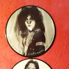 Discos de vinilo: PICTURE VINYL 4 FOTO VINILOS CARAS KISS. Lote 221007803
