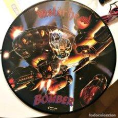 Discos de vinilo: VYNIL PICTURE MOTORHEAD BOMBER. Lote 221007930