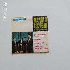 Discos de vinilo: MANOLO ESCOBAR Y SUS GUITARRAS. Lote 221009188