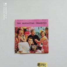 Discos de vinilo: THE MANHATTAN TRANSFER. Lote 221009228