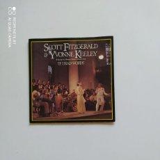 Discos de vinilo: SCOTT FITZGERALD & YVONNE KEELEY. Lote 221009245