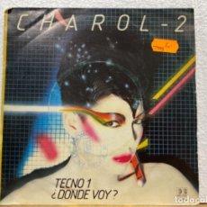 Disques de vinyle: CHAROL-2. Lote 221073411