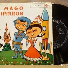 Discos de vinilo: EL MAGO CHIPIRRON - CUENTO INFANTIL. Lote 221074242