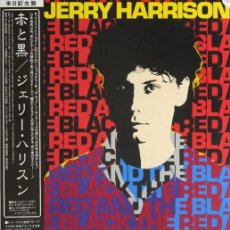 Discos de vinilo: OFERTA LP JAPON JERRY HARRISON - THE RED AND THE BLACK. Lote 221075610