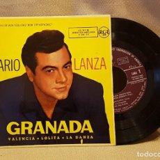 Discos de vinilo: MARIO LANZA - GRANADA. Lote 221076750