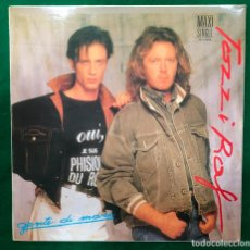 Discos de vinilo: UMBERTO TOZZI Y RAF - GENTE DI MARE - LP MAXI SINGLE DE 1987 RF-8707 , BUEN ESTADO. Lote 221077662