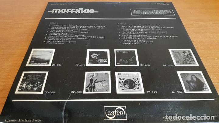Discos de vinilo: MORRIÑAS / VARIOS INTÉRPRETES / LP - ZAFIRO-1974 / MBC. ***/*** - Foto 2 - 221077893