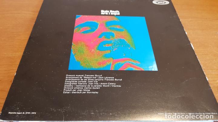 Discos de vinilo: LLUÍS LLACH / ARA I AQUÍ / LP - MOVIE PLAY-1973 / MBC. ***/*** - Foto 2 - 221078886