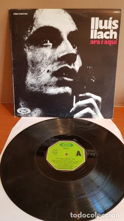 LLUÍS LLACH / ARA I AQUÍ / LP - MOVIE PLAY-1973 / MBC. ***/*** (Música - Discos - LP Vinilo - Cantautores Españoles)