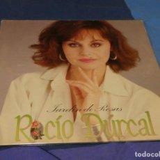 Discos de vinilo: EXPRO LP ROCIO DURCAL JARDIN DE ROSAS 1984 BUEN ESTADO. Lote 221079993