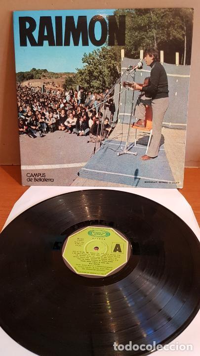 RAIMON / CAMPUS DE BELLATERRA / LP-GATEFOLD - MOVIE PLAY-1974 / MBC. ***/*** (Música - Discos - LP Vinilo - Cantautores Españoles)