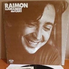Discos de vinilo: RAIMON / LLIURAMENT DEL CANT / LP-GATEFOLD - MOVIE PLAY-1977 / MBC. **/*** LIBRETO.. Lote 221081071