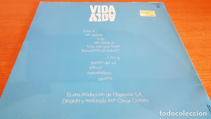 Discos de vinilo: PALOMA SAN BASILIO / VIDA / LP`- HISPAVOX-1988 / MBC. ***/*** - Foto 2 - 221084408