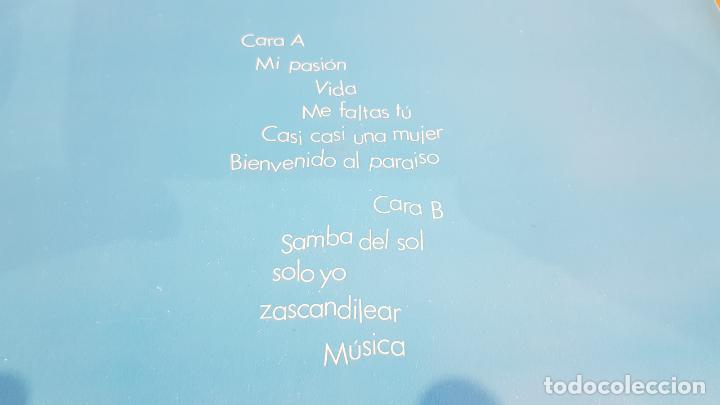Discos de vinilo: PALOMA SAN BASILIO / VIDA / LP`- HISPAVOX-1988 / MBC. ***/*** - Foto 3 - 221084408