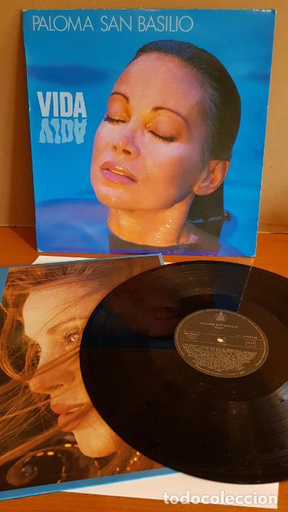 PALOMA SAN BASILIO / VIDA / LP`- HISPAVOX-1988 / MBC. ***/*** (Música - Discos - LP Vinilo - Solistas Españoles de los 70 a la actualidad)