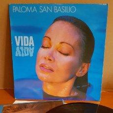 Discos de vinilo: PALOMA SAN BASILIO / VIDA / LP`- HISPAVOX-1988 / MBC. ***/***. Lote 221084408