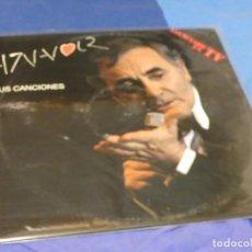 Discos de vinilo: EXPRO DOBLE LP CHARLES AZNAVOUR SUS CANCIONES MUY BUEN ESTADO DE VINILOS. Lote 221084473