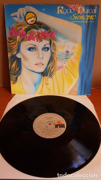 ROCIO DURCAL / SIEMPRE / LP - ARIOLA-1986 / MBC. ***/*** (Música - Discos - LP Vinilo - Solistas Españoles de los 70 a la actualidad)
