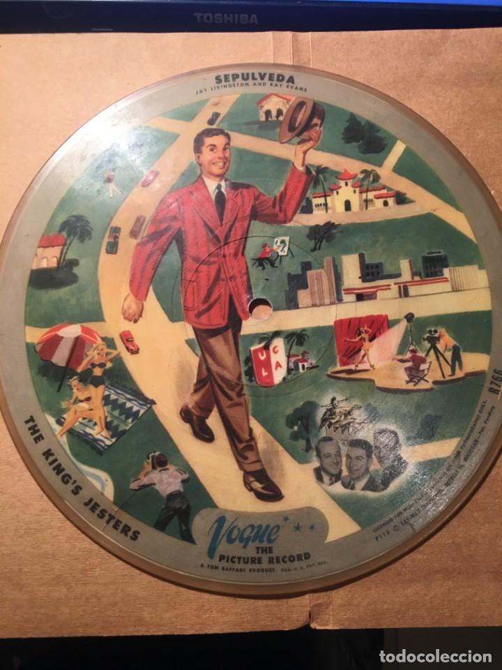 DISCO - JAY LIVINGSTON Y RAY EVANS COPYRIGHT 1946 JAC LIVINGSTON AND RAY EVANS - SEPULVEDA /THE KIN (Música - Discos de Vinilo - EPs - Pop - Rock Extranjero de los 50 y 60)