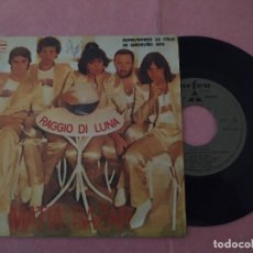 """Discos de vinilo: 7"""" MATIA BAZAR – RAGGIO DI LUNA / PERO CHE BELLO - ORFEU KSAT 669 - EUROVISION (VG++/VG++). Lote 221085031"""