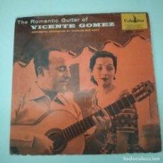 Discos de vinilo: VICENTE GOMEZ - LA GUITARRA ROMANTICA DE VICENTE GOMEZ EP AÑOS 50. Lote 221085395