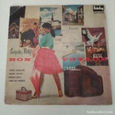 Discos de vinilo: ORQUESTA HAWAIAN TROUBADOURS - TORERO MADRILEÑO / AMOURS D'HAWAI EP AÑOS 50. Lote 221086543